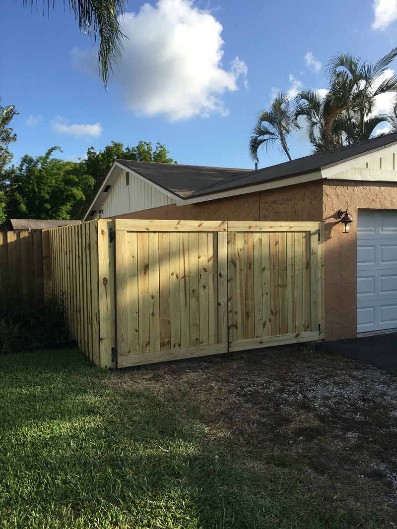 fence company phoenix wood installation
